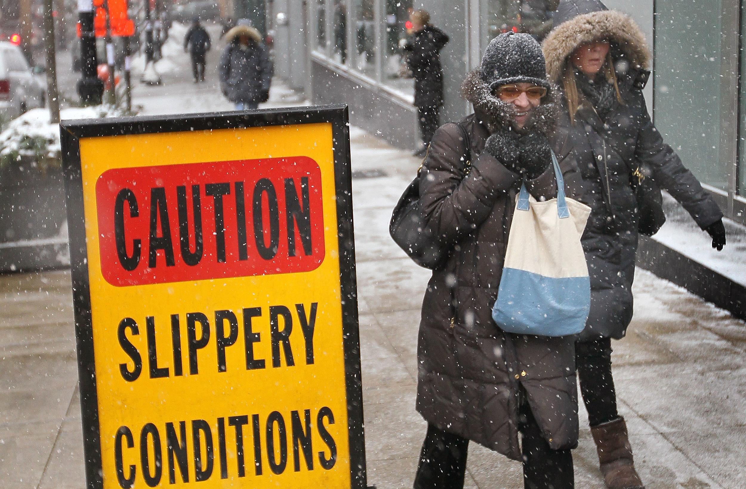 Winter Weather arrives in Shreveport-Bossier City