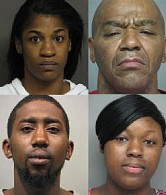 Major Drug Sweep By Narcotics Officers and FBI Nets Four Arrests In Bossier City