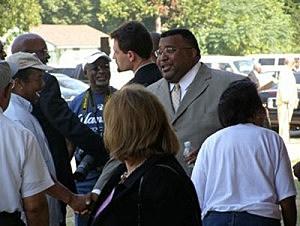 Shreveport Mayor Cedric GLover