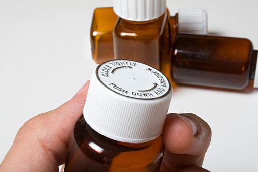photo of pill bottle