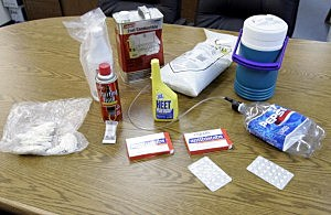 Kansas Police Scour Rural Areas For Meth Labs