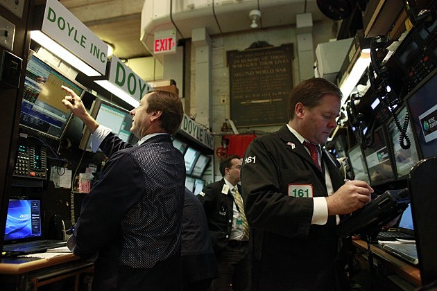 stock exchange reopens