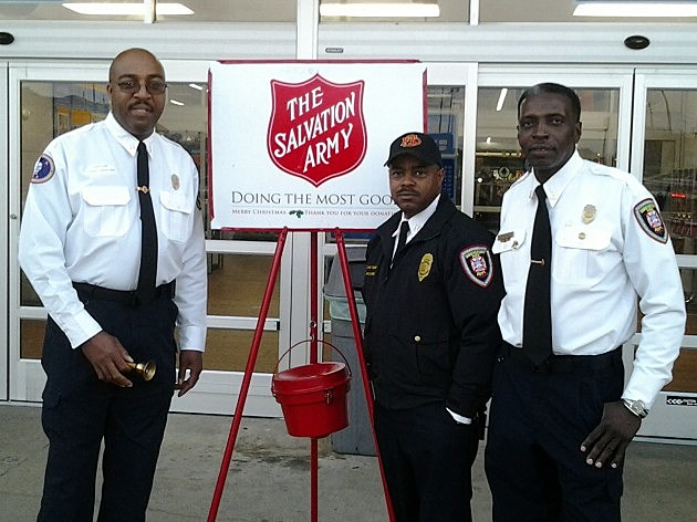 shreveport firefighters salvation army
