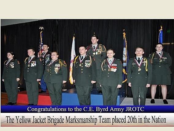 Byrd High School Marksmanship Team