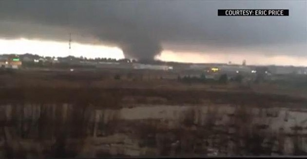 Mississippi Tornado Video