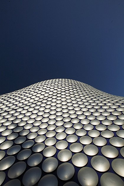 Selfridges store facade in Birmingham UK. for illustrative purposes only.