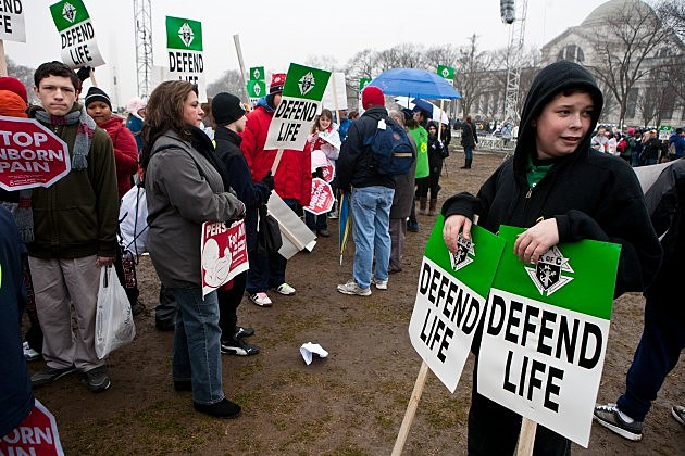 Activists Hold Annual March For Life On Roe v. Wade Anniversary