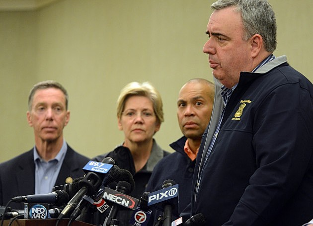 Boston Authorities Speak at News Conference