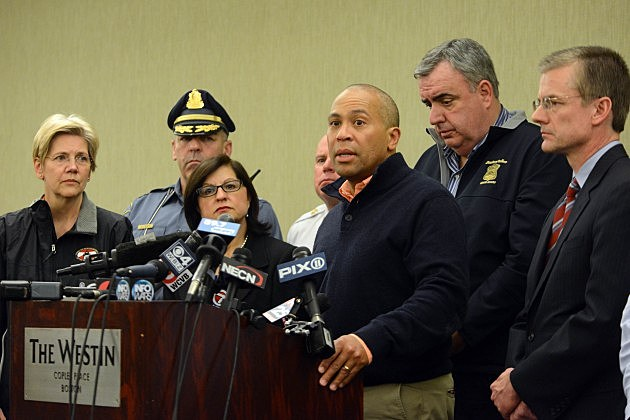 Deval Patrick Talking About Boston Marathon Bombings