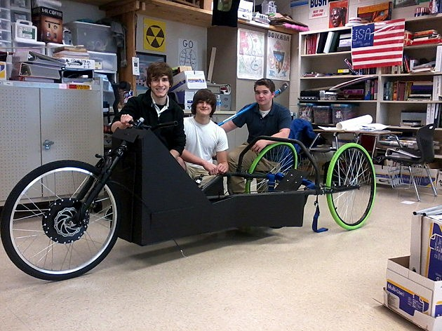 Parkway High School Eco-Marathon team