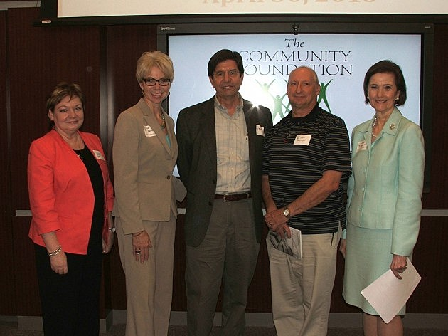 photo of Community Foundation downtown grant recipients