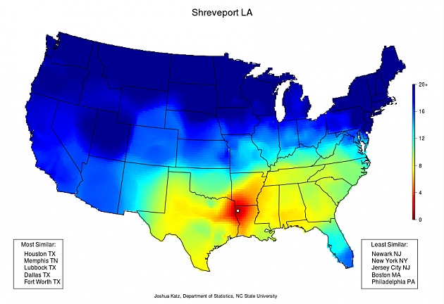 Shreveport LA Dialect