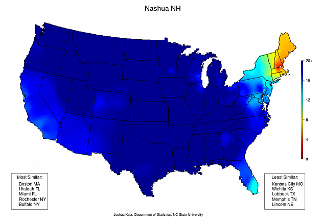 Nashua NH Dialect