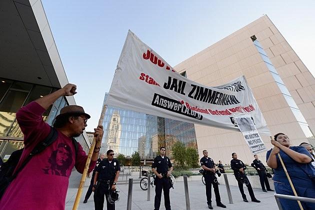 George Zimmerman rallies