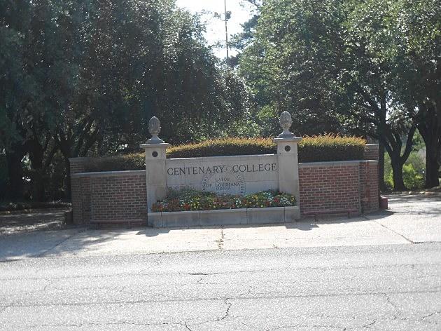 photo of Centenary College main entrance
