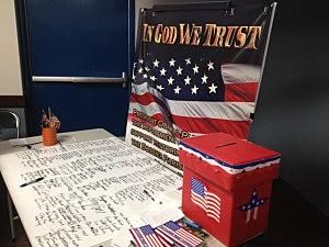 in god we trust pledge banner