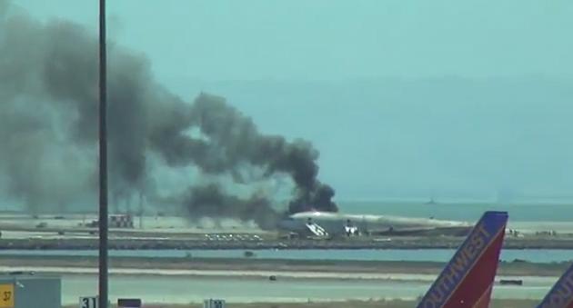 Plane Crash in San Francisco