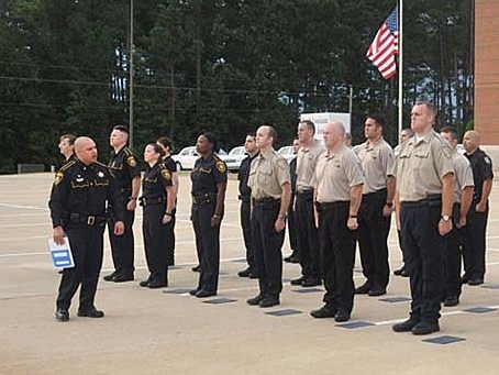 photo of recruits