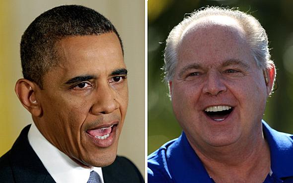 Rush Limbaugh Barack Obama