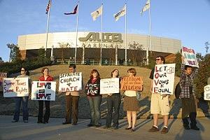 Arkansas protest