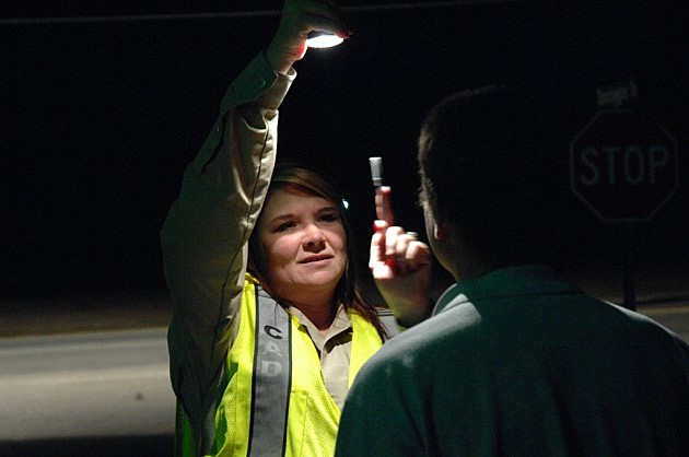 photo of field sobriety test