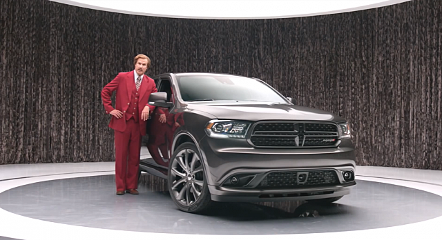 Ron Burgundy Dodge Durango