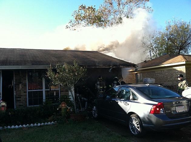 photo of Camellia Lane house fire