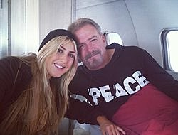 Bill Engvall and Emma Slater