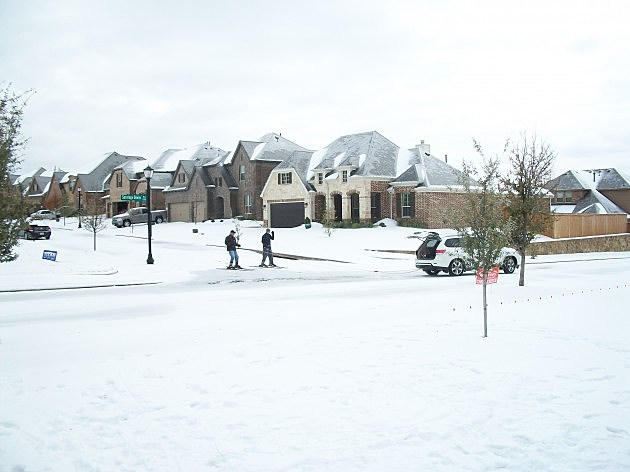 Fort Worth ice