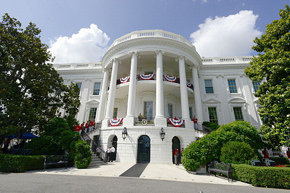 President Obama Celebrates Independence Day Hosting Military Families