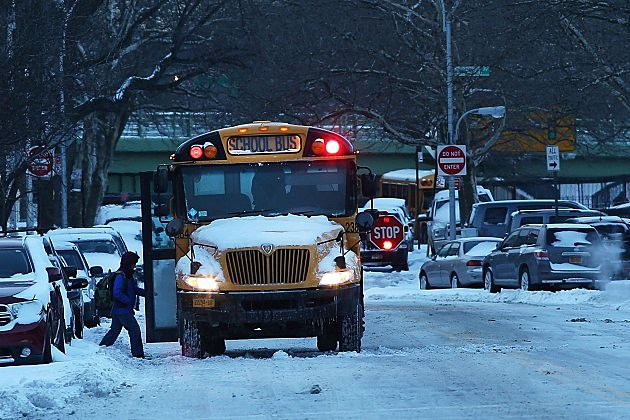 Morning Commute In New York Hampered After Major Snowstorm