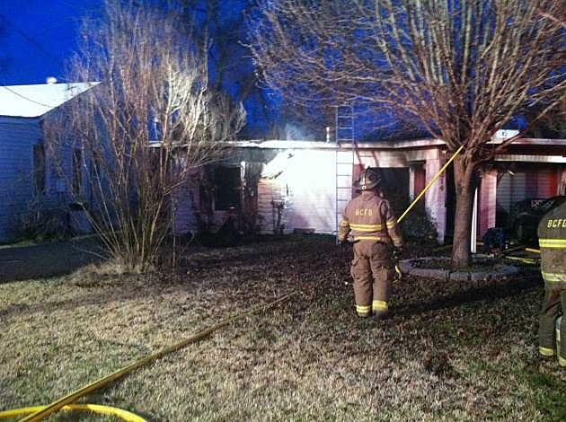 photo of Margaret Street house fire