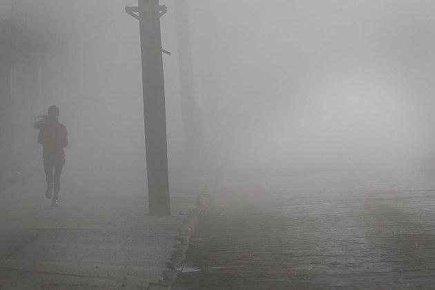 Fog Descends On New York City