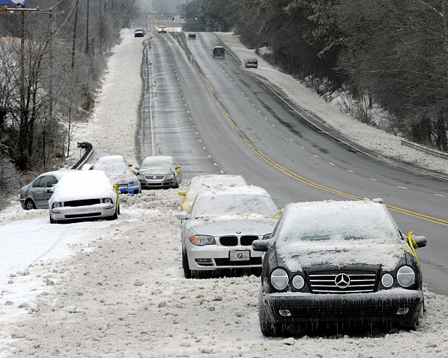 Major Winter Storm Cripples North Carolina