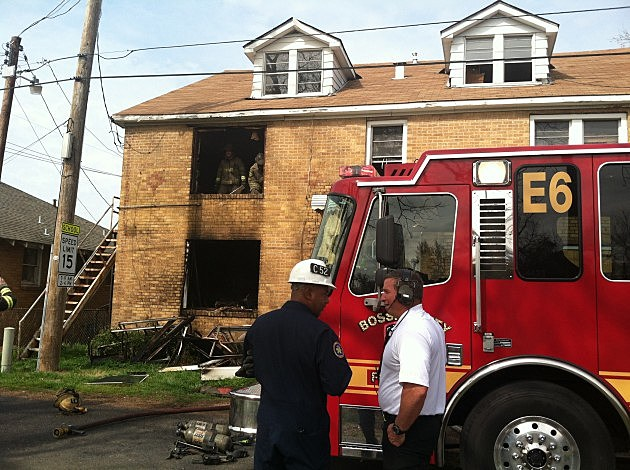 photo of Coleman Street Apartments fire