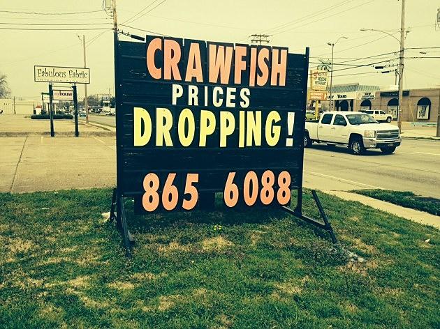 crawfish prices