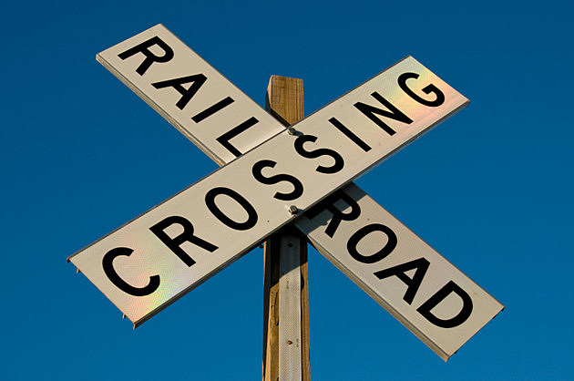photo of railroad crossing