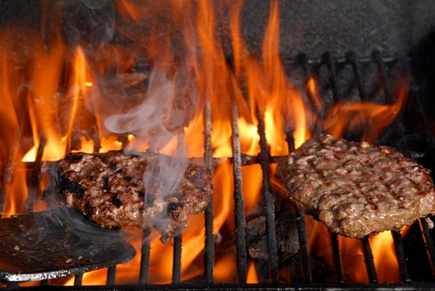 Burgers on the Barbeque