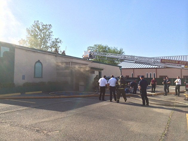 photo of Action Central Lounge after fire