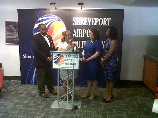 photo of Delta Airlines anniversary in Shreveport
