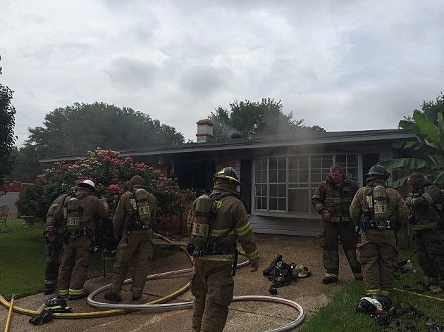 photo of Douglas Drive house fire