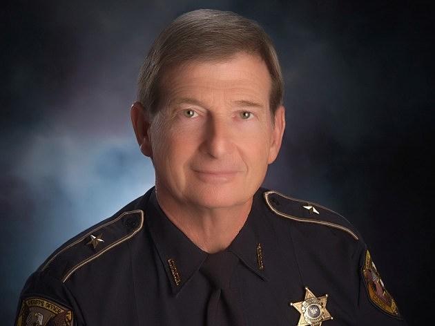 official portrait of Caddo Parish Sheriff Steve Prator