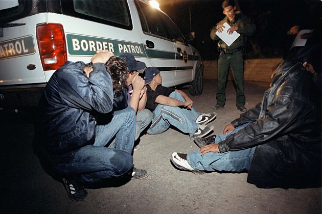 ILLEGAL IMMIGRANTS BRAVE THE TOXIC NEW RIVER