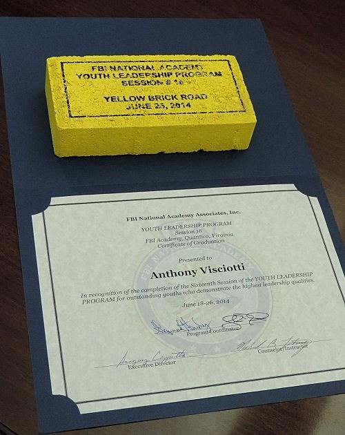 photo of Anthony  Visciotti's yellow brick