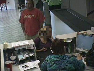 photo of bank robbery suspect