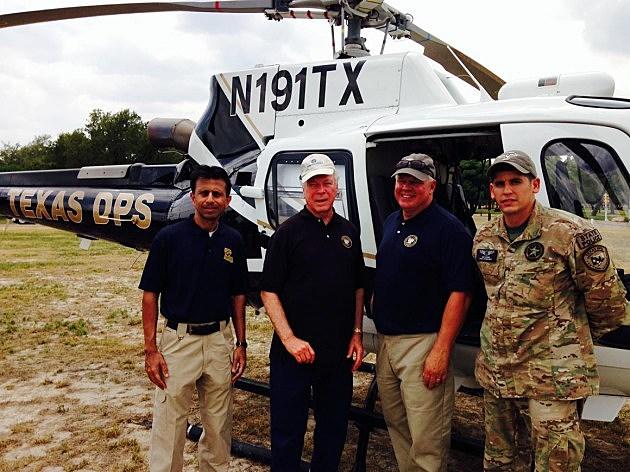 Governor Jindal at Texas-Mexico border
