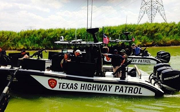 photo of Governor Jindal at Texas-Mexico border