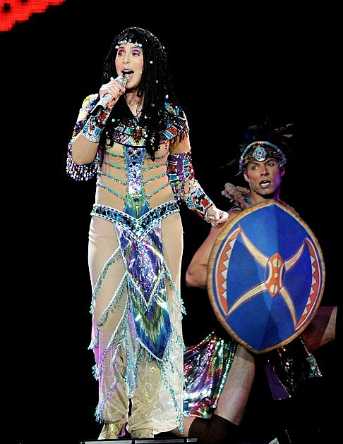 "Cher In Concert With Cyndi Lauper ""Dressed 2 Kill"" Tour"
